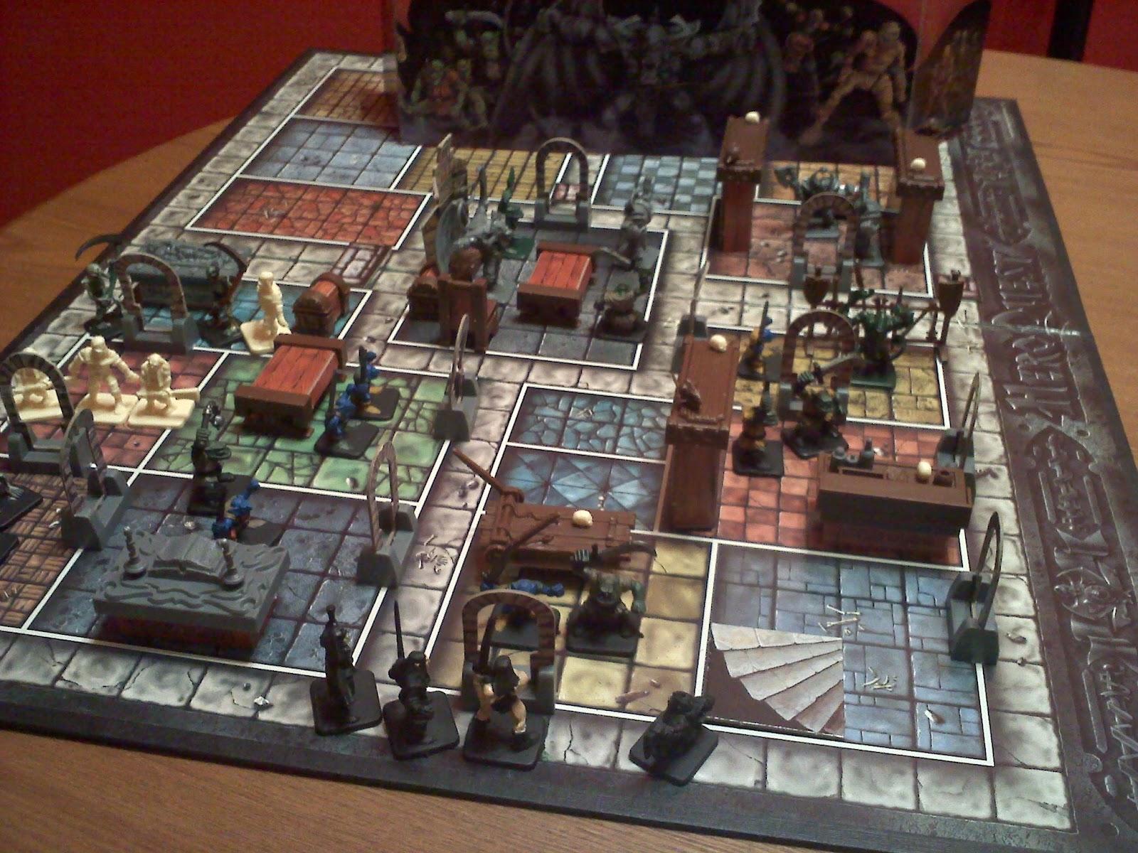 Hero quest zoom3 venez d couvrir l 39 univers du ludique en - Dungeon gioco da tavolo ...