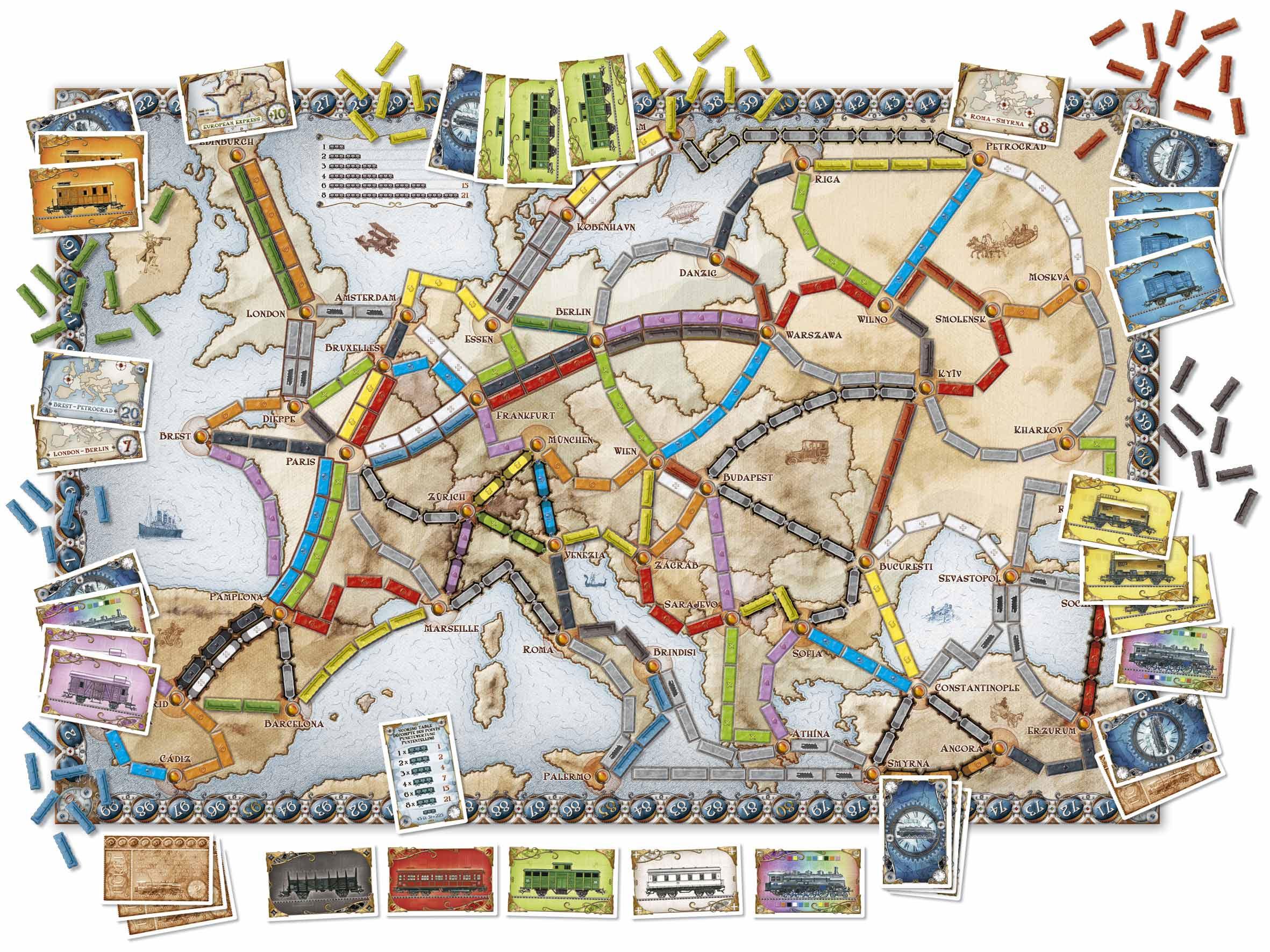 aventuriers du Rails Europe
